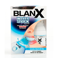 BLANX WHITE SHOCK TREATMENT + LED BITE