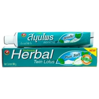 Twin Lotus Зубная паста Herbal Plus Salf (Плюс соль) 90 гр